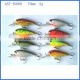 high quantity LED plastic fishing bait