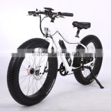 26 wheel size full suspension electric bike cheap fat tire electric bike with strong wattage 250W-750W