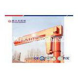 16 Tons Heavy Lift Fixed Slewing Crane Post Mounted Jib Hoist Crane With Derricking Jib