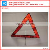 high visibility Road Reflective Triangle Warning Stop Sign; Triangle Safety sign meeting EN471