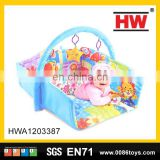 New design soft cotton play toys the baby cartoon floor mat