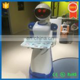Life assistant intelligent broadcast waiter robot attractive