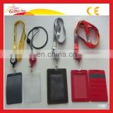 Transparent High Quality Leather Case For Htc One x Card Holder