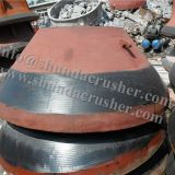 Metso GP300S concave cone crusher spare parts foundry