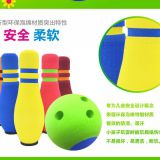 Outdoor Game Safe EVA Bowling Set 6 Pins 1 Ball Toy For Kids