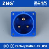 Industrial plug reverse 16A3P, Industrial Inlet Appliance 16A 2P+PE, Industrial panel plug