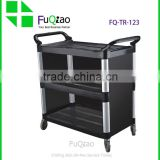 Restaurant hotel room service trolleys , service cart , food service trolley for restaurant equipment