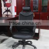 Hot sale black leather office chair for office furniture