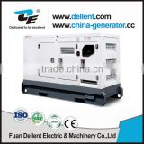 Dellent designed water cooled silent type electric generator set from 10kw -1500kw 230/400V