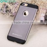 Newest TOTU China Top Brand Aluminum Metal metal phone case for iPhone 6 for iPhone 6 plus case phone