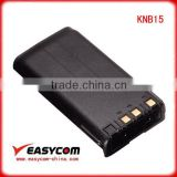 EB-KNB15 replacement battery for Kenwood TK260/360/270/370 ni-cd rechargeable battery pack knb-15a battery