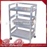 Beiqi Beauty Stainless Steel Trolley Cart With 3 Trays Salon Spa Furniture for Sale New Design for Sale