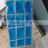Hot and cold gel freeze gel packs freezer ice block making machine