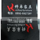 High Quality clothing label,sofa label,brand woven tag