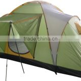 single layer Family Camping Tent 3 room tent