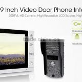 Touch screen hidden door wireless camera