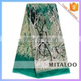 Mitaloo MFL0134 Latest Design Embroidery French Lace for African People