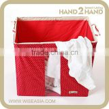 Large Foldable Laundry Basket and Storage Boxes for Clothes and Baby Clothes