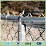 Sport court Hot dipped galvanized and pvc coated chain link fence                                                                         Quality Choice