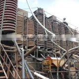 Advanced spiral chute mining equipment for ore beneficiation industry