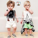 2015 Baby boy and girl matching outfits top and pants boy clothes sets best baby boy clothes