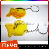 Promotion lighting metal key chain for christmas holiday gift                                                                                                         Supplier's Choice