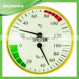 High Quality Bi-Metal Sauna Thermometer