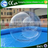 High quality clear TPU water ball,walk on water plastic ball for sale