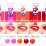 Best selling Korean Lip Gloss Romantic bear WOW Tearing style Lipgloss Waterproof Long lasting lip cream Lipsticks