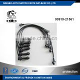 High voltage silicone Ignition wire set, ignition cable kit, spark plug wire 90919-21561 for TOYOTA