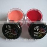 Nail art of dip powder nails color acrylic nail polymer powder