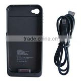 1200 mah External backup battery case For iPhone 4/4S emergency charger