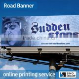 Custom Size Design PVC Advertising Printed Advertising Poster Banner Street Banner Pole Road Banner
