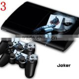 FOR PLAYSTATION 3 / PS3 ORIGINAL WHY SO SERIOUS JOKER 001 STICKER SKIN & 2 CONTROLLER SKINS