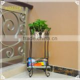 decorative metal flower pot holder wrought iron plant stand