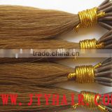 Russian remi full cuticle nano ring / nano tip / nano bead hair extension, dream catcher hair extensions
