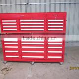 With castors 72 inch heavy duty loaded tool cabinet