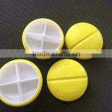 cute ,decorative pill boxes,custom design logo color 7 days medication plastic pill boxes bulk