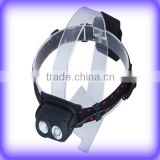 2 LED Plastic Head Torch