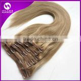 Brazilian Virgin Hair Clip In Human Hair Extensions Full Head 220g Clip In Brazilian Hair Extensions Remy Human Hair Clip in