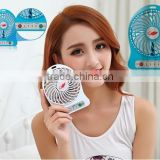 CE RoHS rechargeable fan light with radio about portable fan