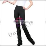 A2517 Adult flared trousers ,women dance pants,flare yoga pants,lady dance pants for dance and gymnastic practice