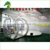 Customized Clear Giant Inflatable Dome Bubble Tent , Outdoor Inflatable Bubble Camping Tent For Sale