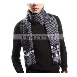 Korean style autumn and winter men wear fashion 5color choice acrylic simple Jacquard men scarf
