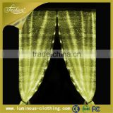 2015 optic fiber luminous curtain fairy lights wedding