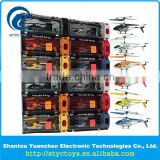 black white orange red blue yellow Plastic Transparency Box 3.5ch colorful IR control mini rc helicopter aircraft toys with gyro