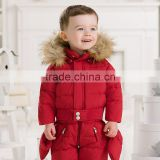 DB980 dave bella 2014 autumn winter infant clothes baby one-piece baby sleeping wear baby winter romper bosysuit