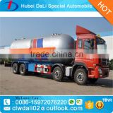 Nigeria market 30mt LPG propane cooking gas bobtail tanker truck Hot sale nigeria lpg dispensing trucks