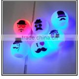 Cartoon expression led flashing toys,Luminous led light gift,Light up LED toys manufacture