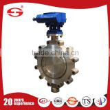 Stainless Steel Lug 6 Inch Butterfly Valve with pneumatic actuators triple eccentric butterfly valve
